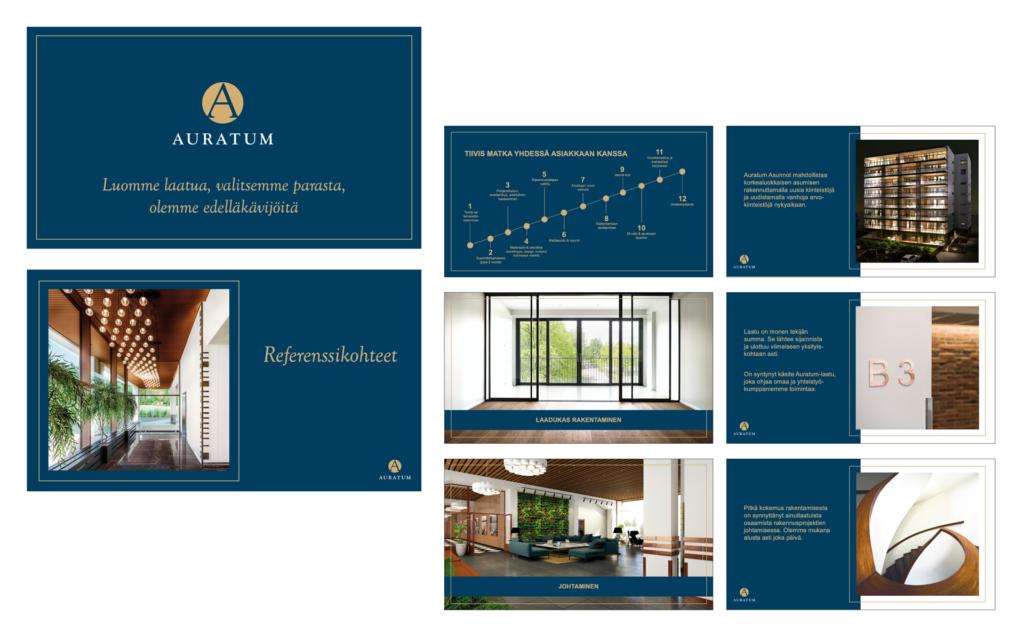 Telegraafi Auratum portfolio