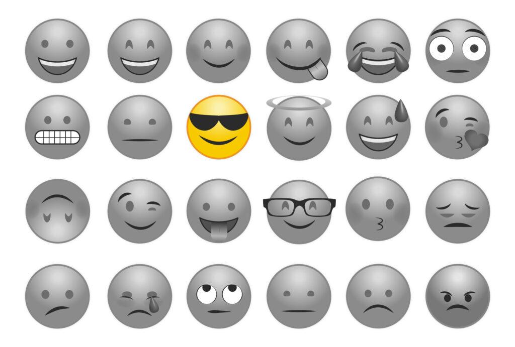 Telegraafi emojit viestinnässä