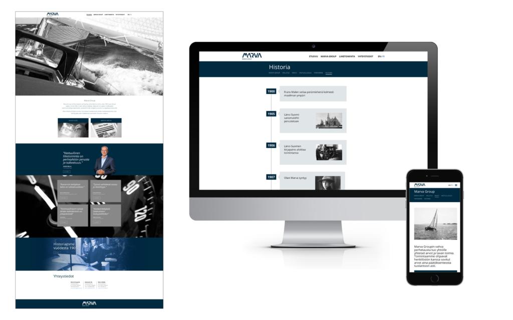 Telegraafi Marva Group portfolio