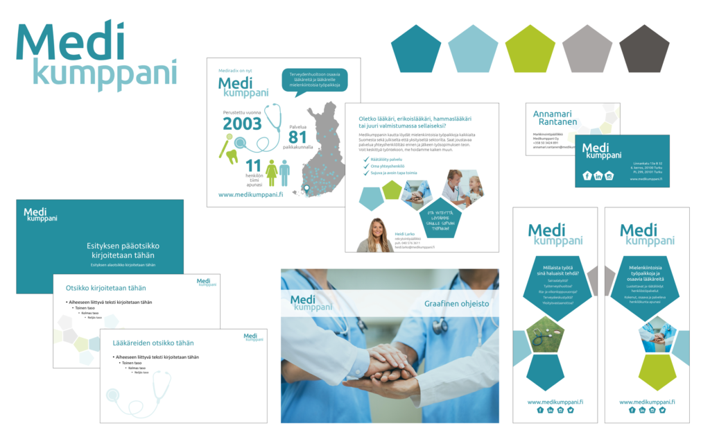 Telegraafi Medikumppani portfolio