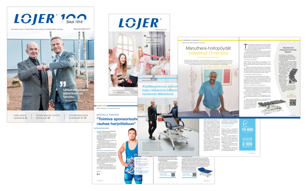 Telegraafi Lojer portfolio