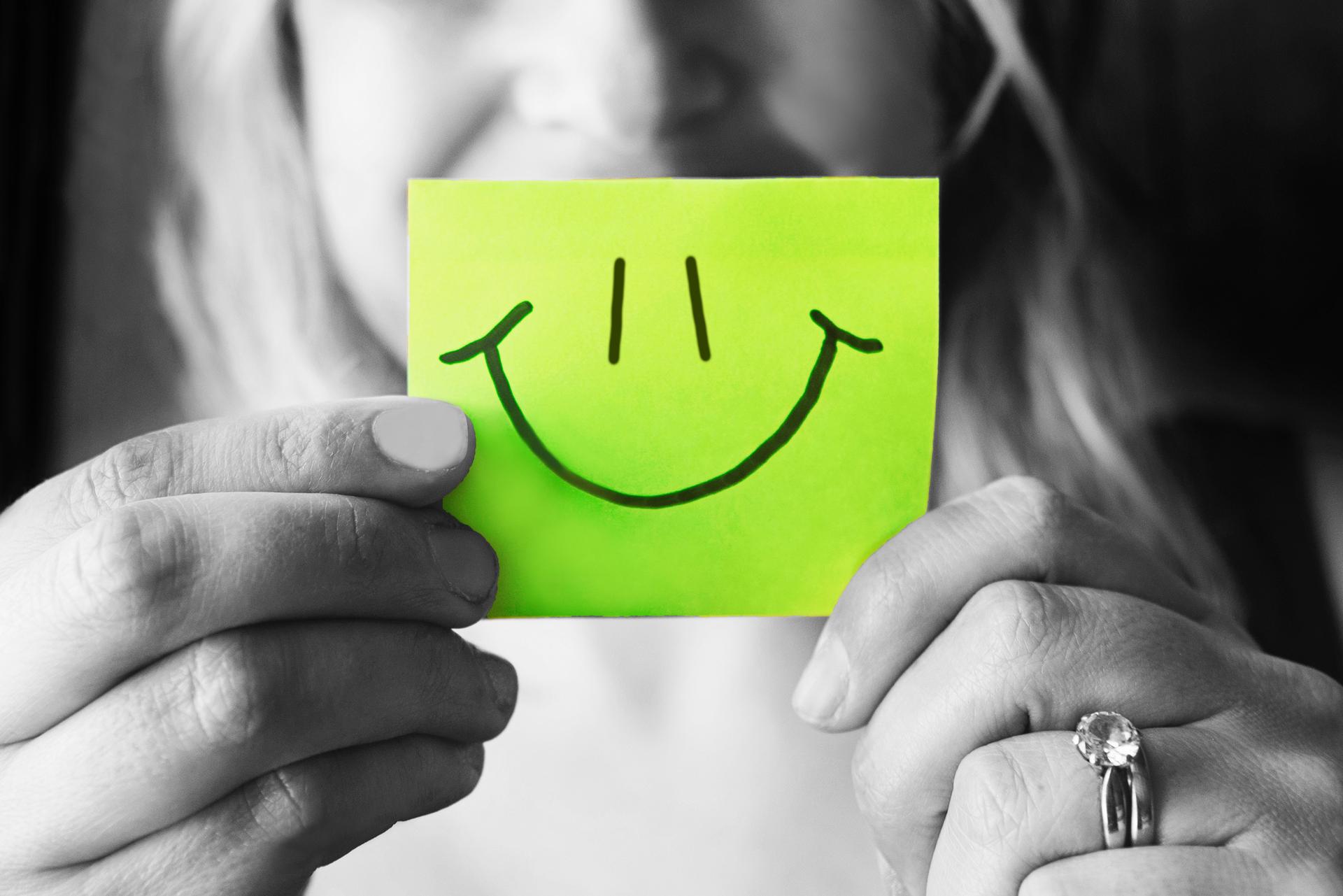 Telegraafi muistilappu smile